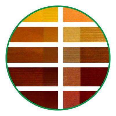 Палитра цветов деревянных окон